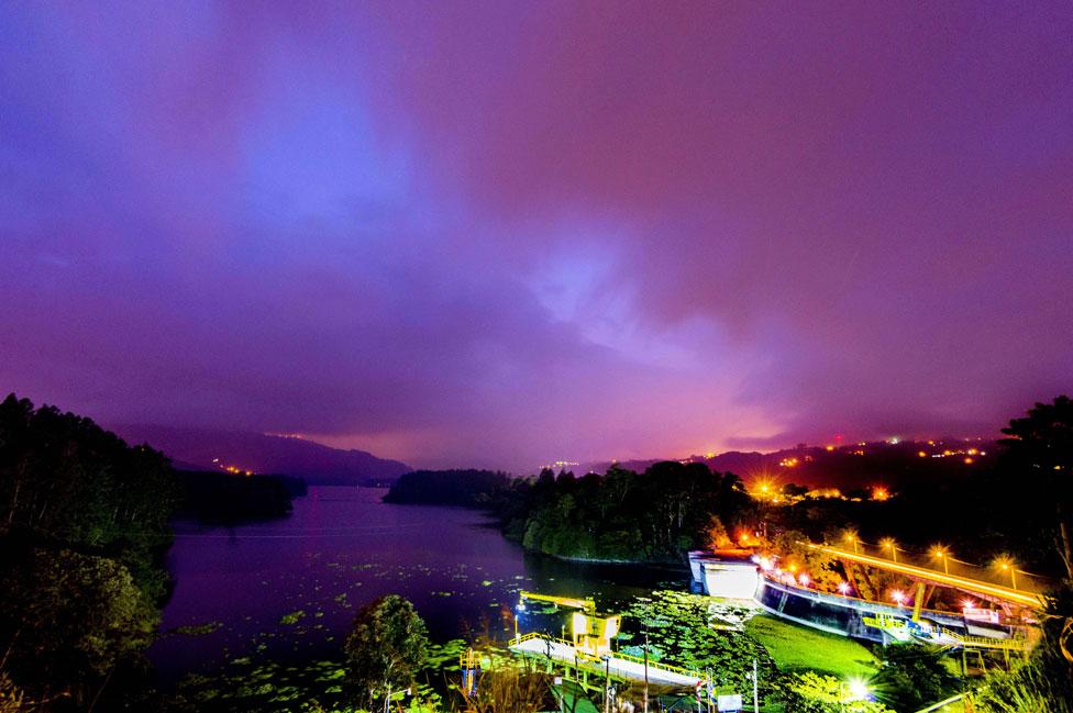 Presa hidroeléctrica en Cachi, Costa Rica