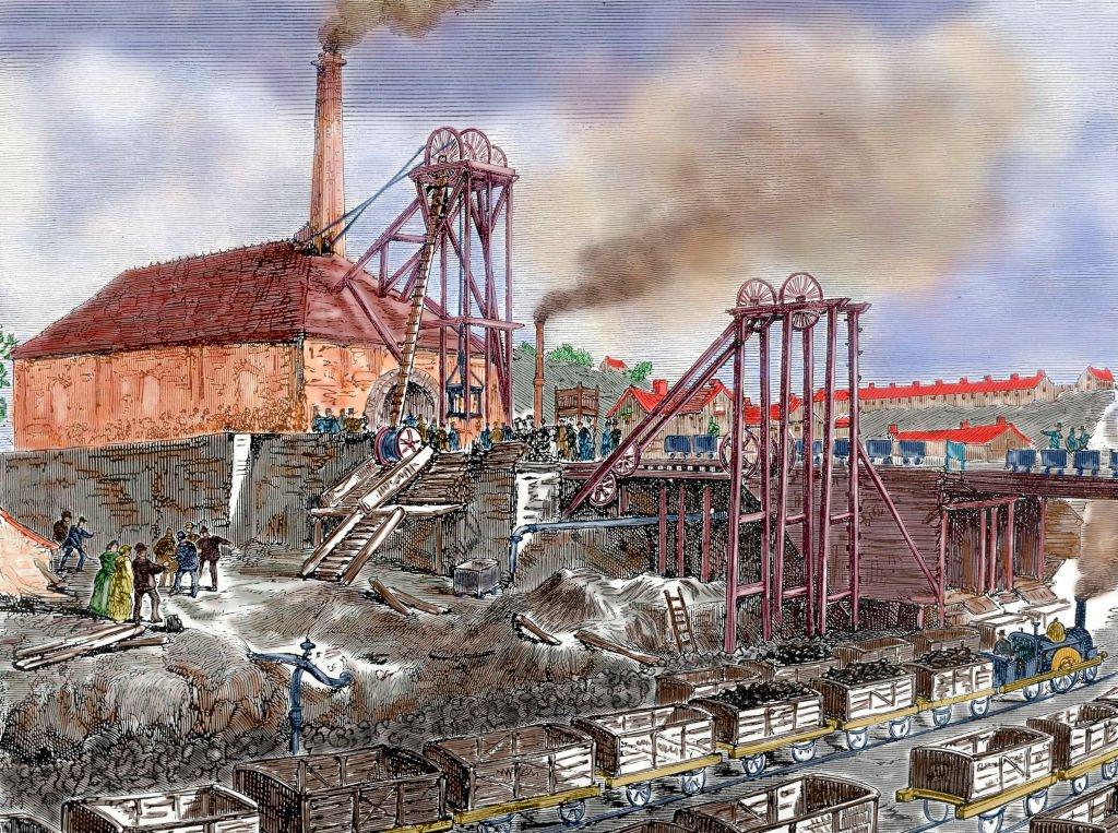 Zona industrial del siglo XIX