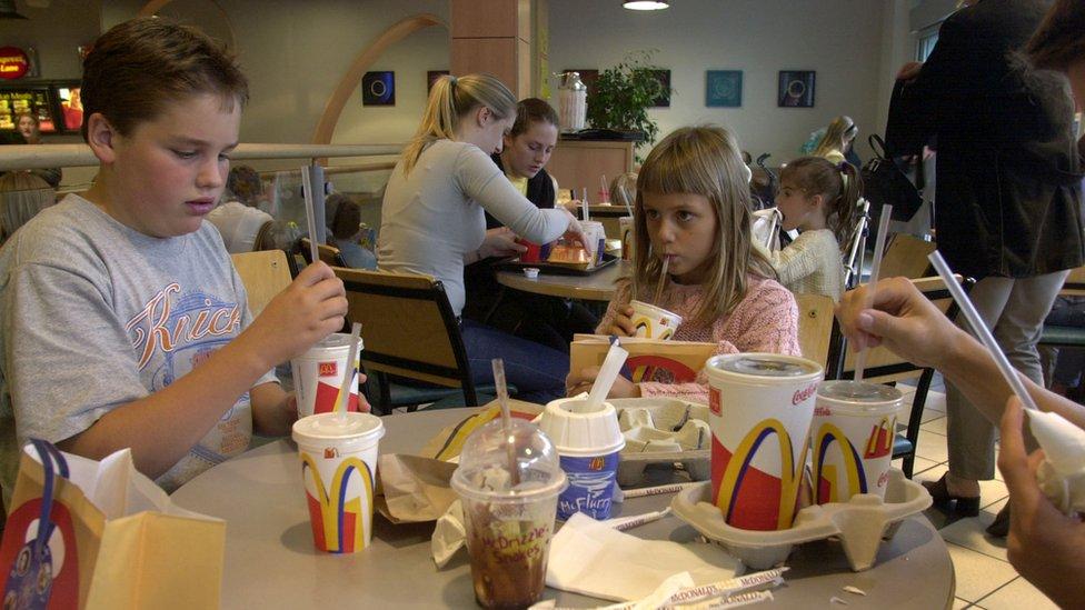 Deca u Mekdonaldsu