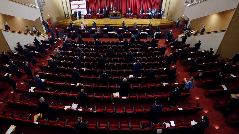 Parlamento libanés