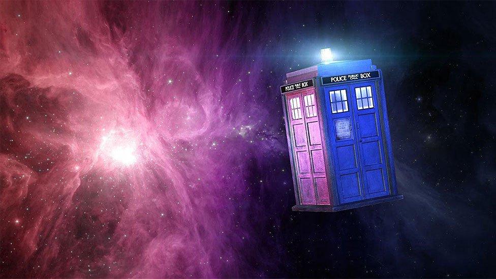 Tardis de Dr. Who.