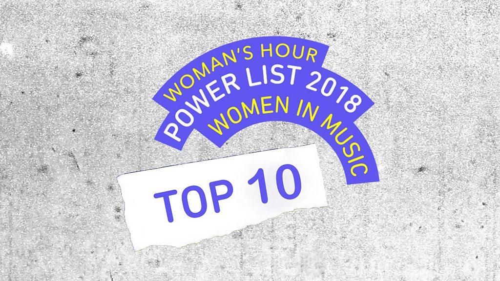 BBC News - BBC Woman's Hour publishes music power list