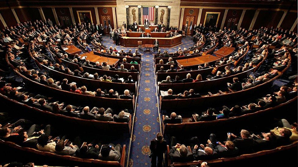 جلسة لمجلس النواب الأمريكي