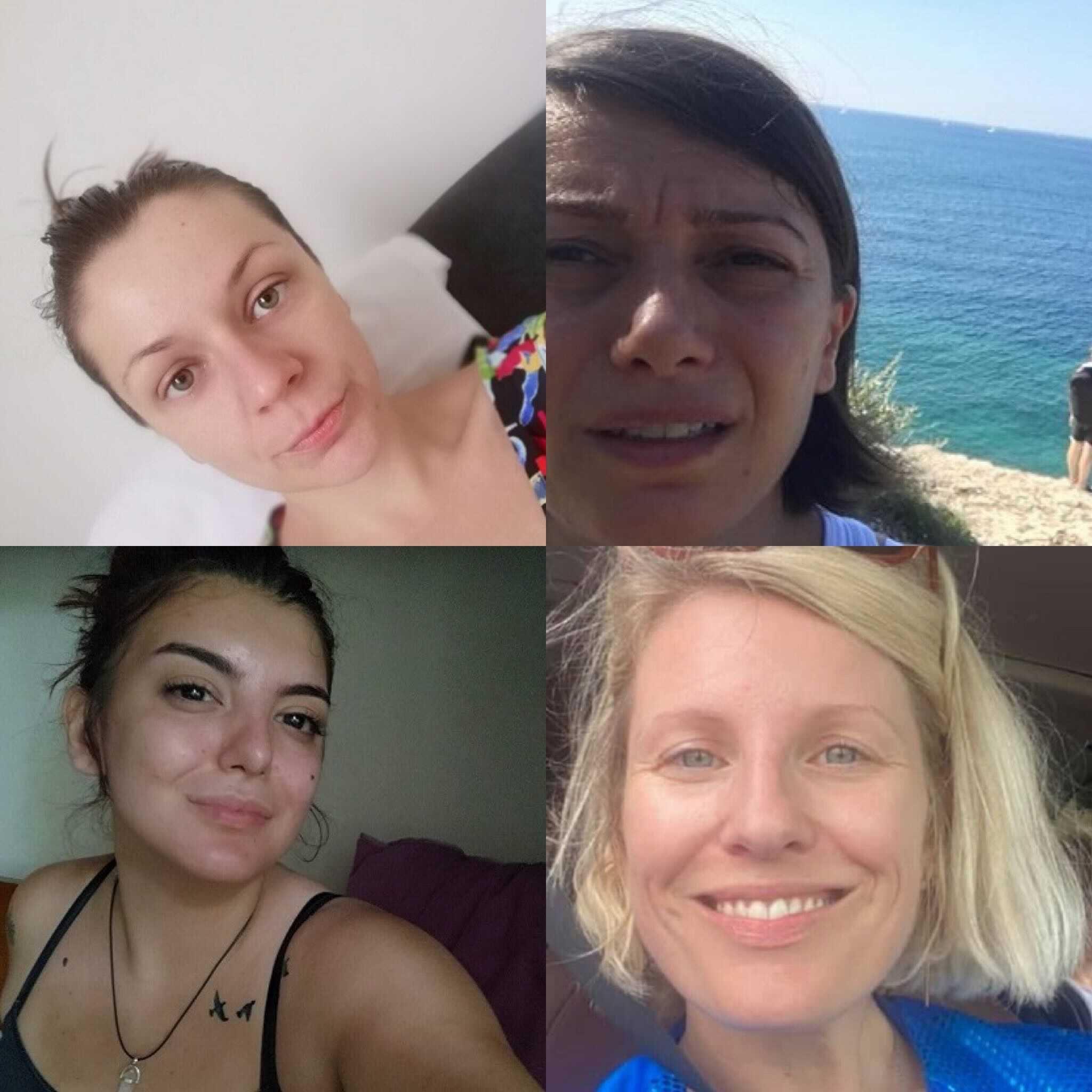 Dajana, Biljana, Anja i Ida