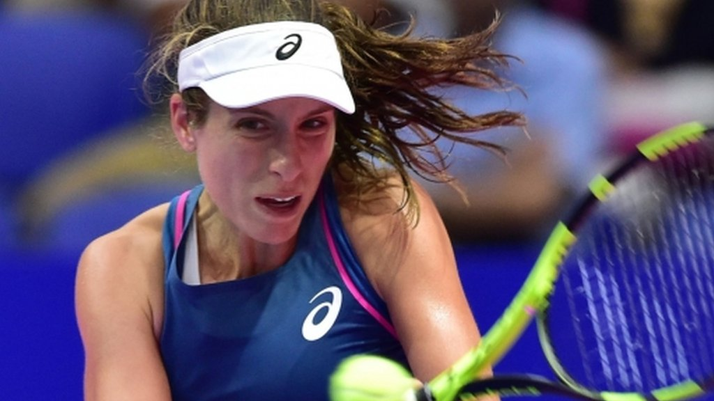 Konta wins final-set tie-break to reach Kremlin Cup semi-final