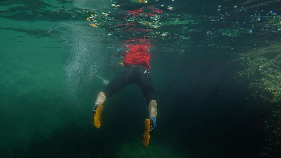 Swimrun: How drunken bet became worldwide sport