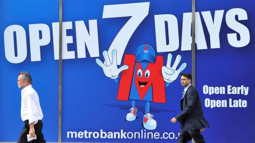 Metro Bank says cash lifeline talks 'advanced'