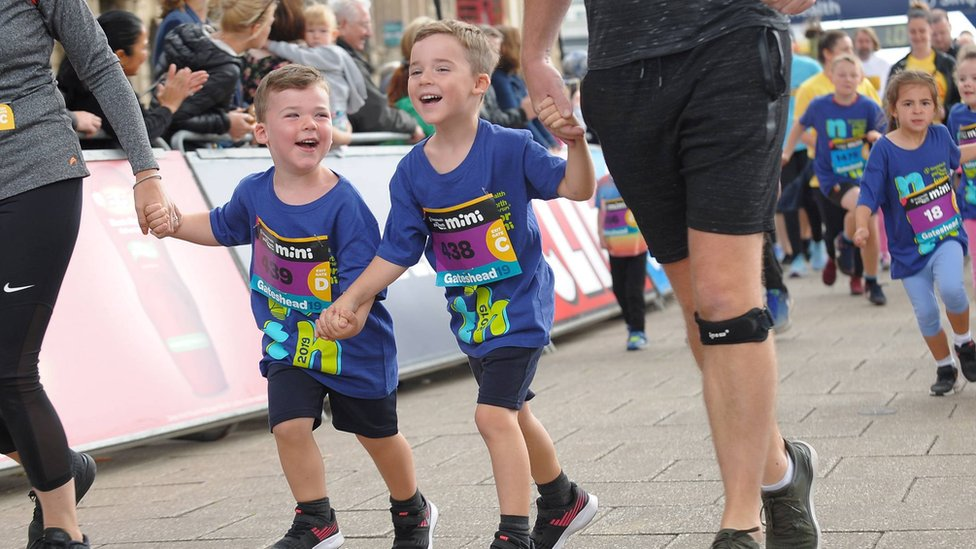 Mini and Junior Great North Run