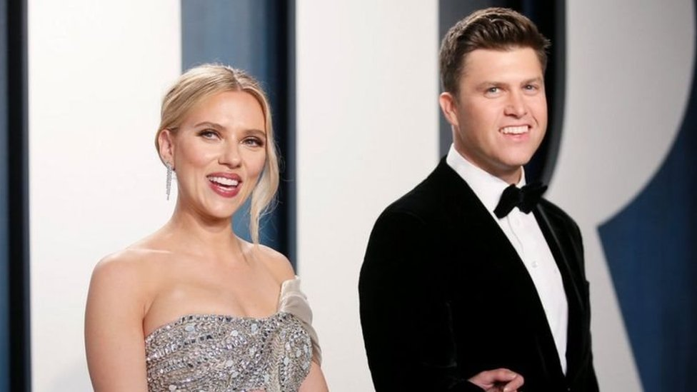 Scarlett Johansson ve Colin Jost