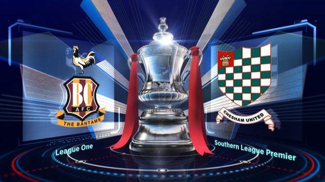 Highlights: Bradford 4-0 Chesham Utd