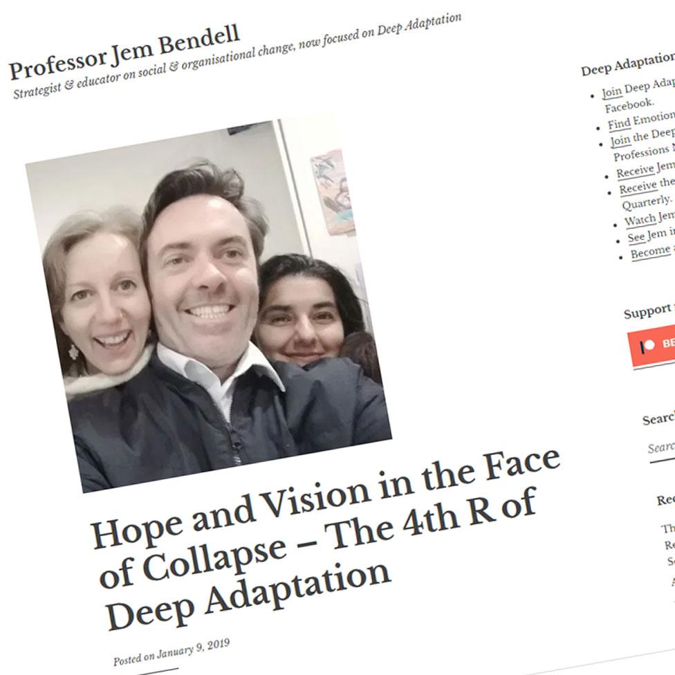 Jem Bendell's website