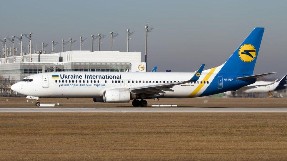 Un Boeing 737-800 NG en el aeropuerto de Múnich el 16 de febrero de 2019.