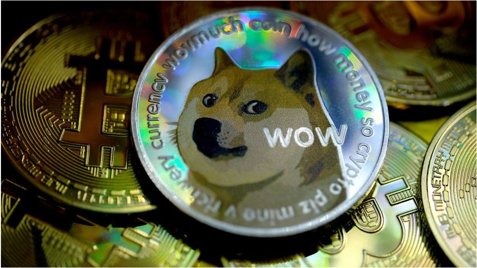Dogecoin takes off after tip by Elon Musk - BBC News