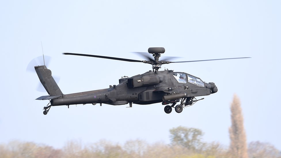 Apache flight path over Essex 'hotspot' raises concerns