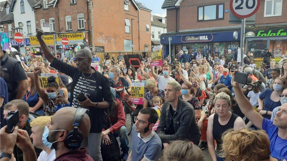 Rashford protest
