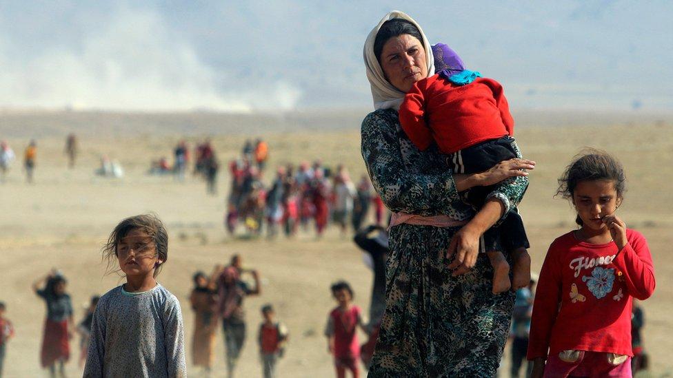 Izbeglice beže iz Iraka