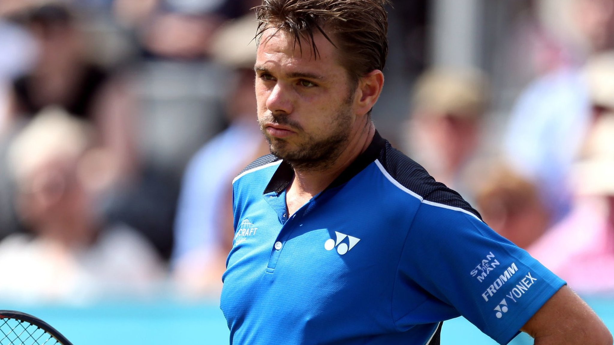 Fever-Tree Championships 2018: Stan Wawrinka beaten by Sam Querry at Queen's