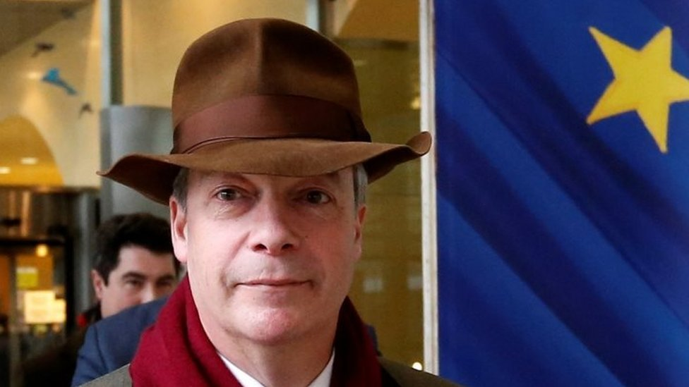 Nigel Farage 'has £35k pay docked by EU over misspending claim'