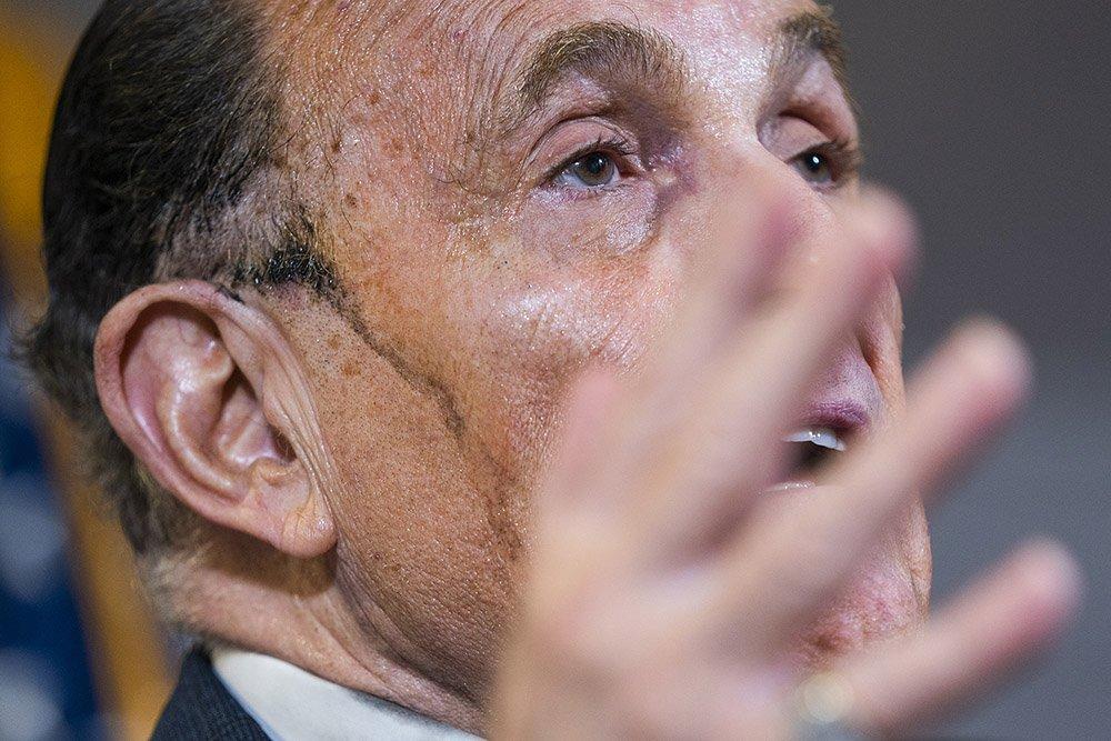 Lawyer to US President Donald Trump and former mayor of New York City Rudy Giuliani
