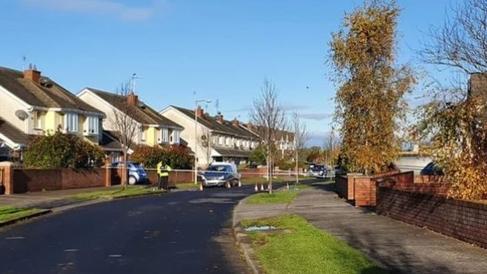 The incident happened at Castlemartin Drive in Bettystown