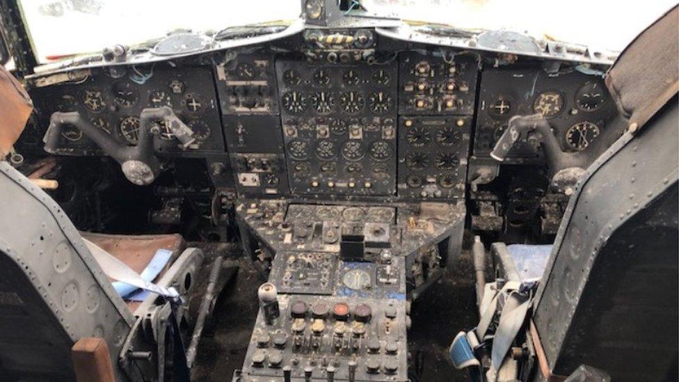 The Last Remaining Blackburn Beverley Transporter Aircraft