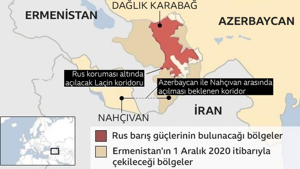 Azerbaycan yıllardır Nahçıvan ile bir kara koridoru açılması için çabalıyordu