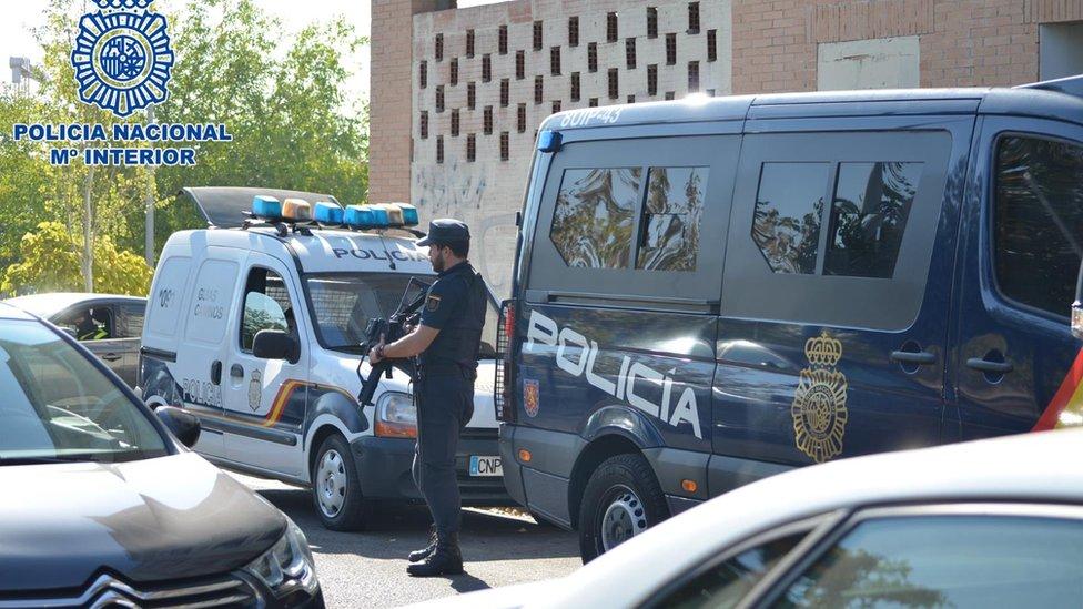 Police in Spain