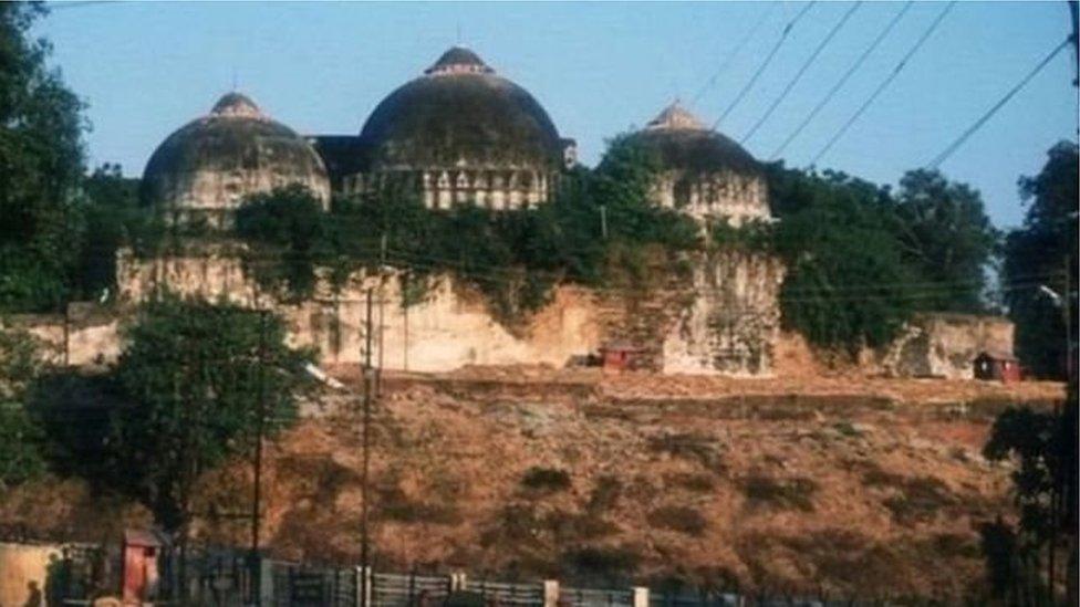بابری مسجد انہدام سے قبل