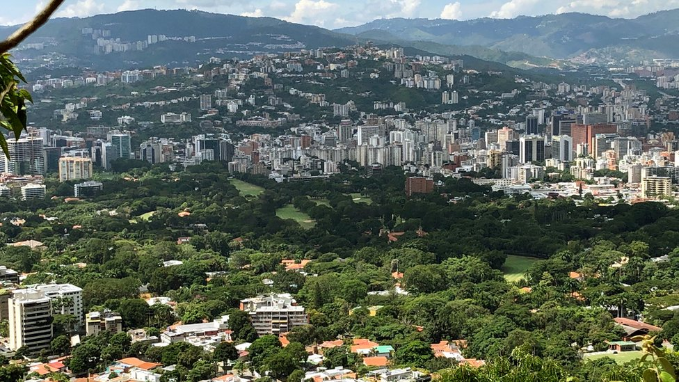 Foto panorámica del Caracas Country Club