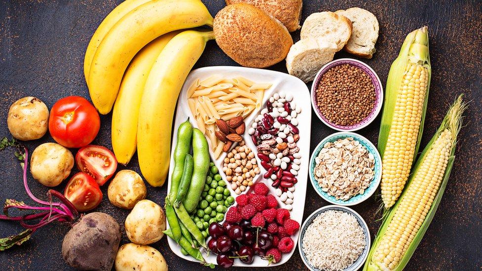 Food high in fibre