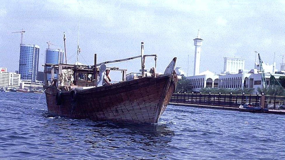 barco en Dubai
