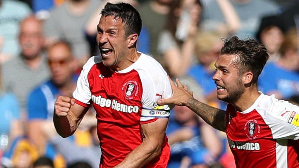 Rotherham beat Shrewsbury to make immediate Championship return