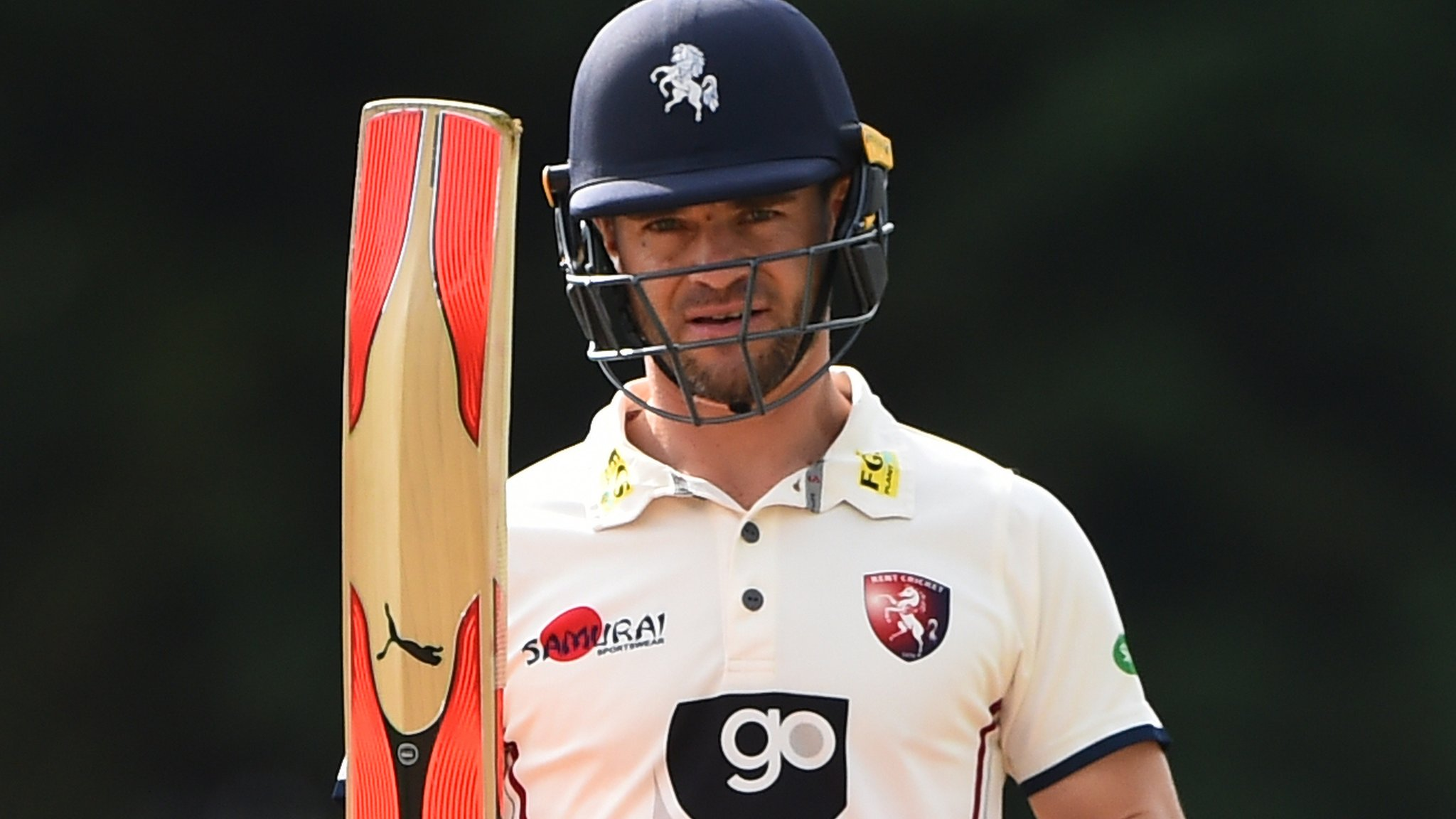Heino Kuhn: South African batsman named as interim Kent captain