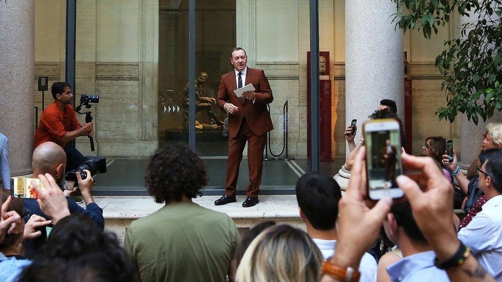 Kevin Spejsi u Rimu