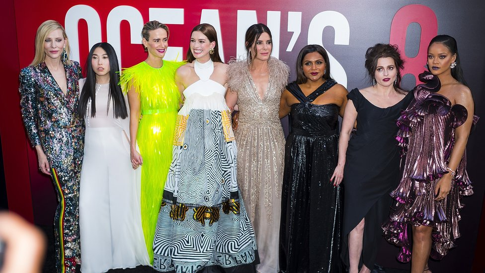 The new-look Ocean's lineup featured a cast of all female leading actors