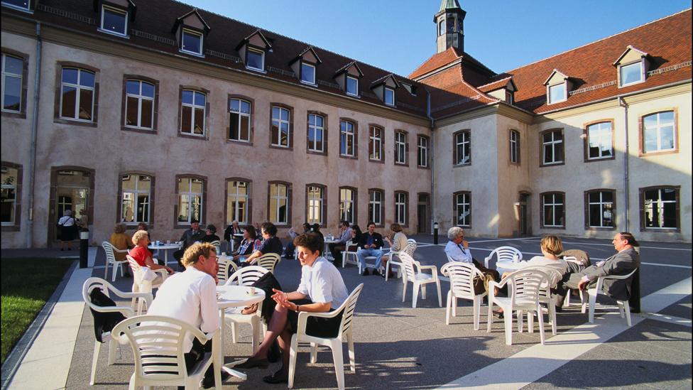 位於斯特拉斯堡的法國國家行政學院