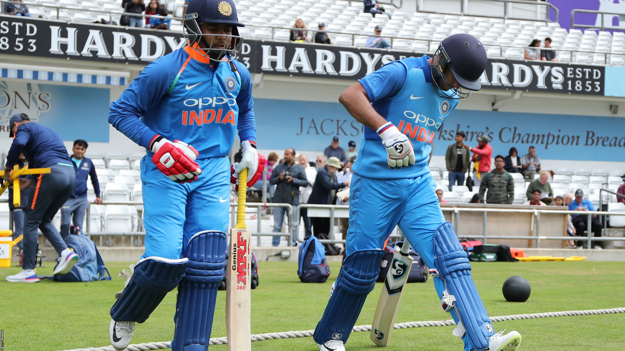 India A make 458-4 - third highest total in one-day history