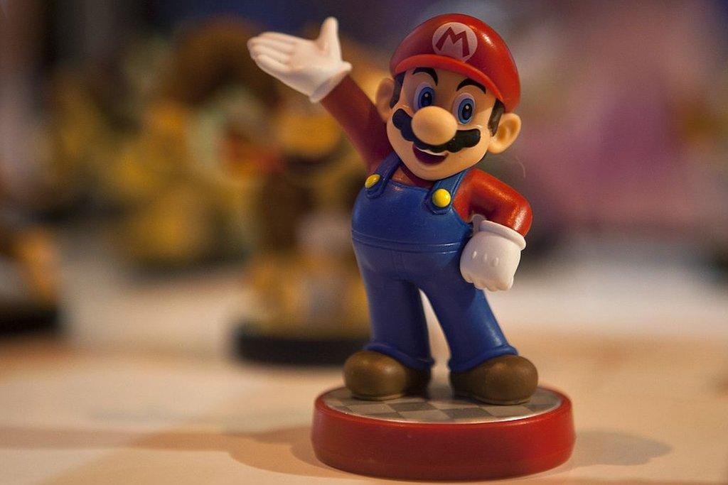 Figura de Super Mario.