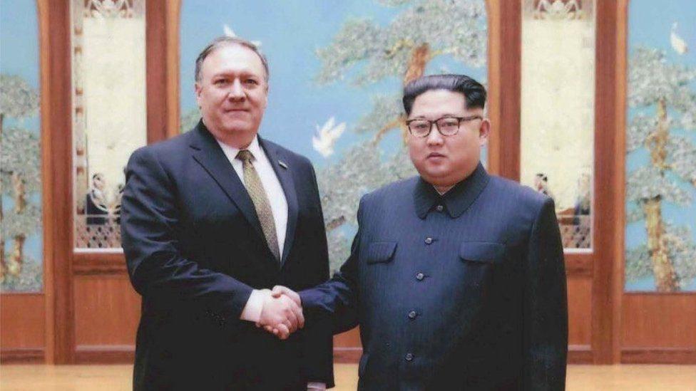 Mike Pompeo bertemu dengan pemimpin Korea Utara Kim Jong-un