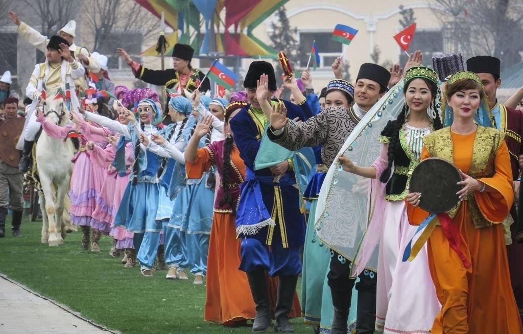 احتفالات نوروز في أستانا، كازاخستان