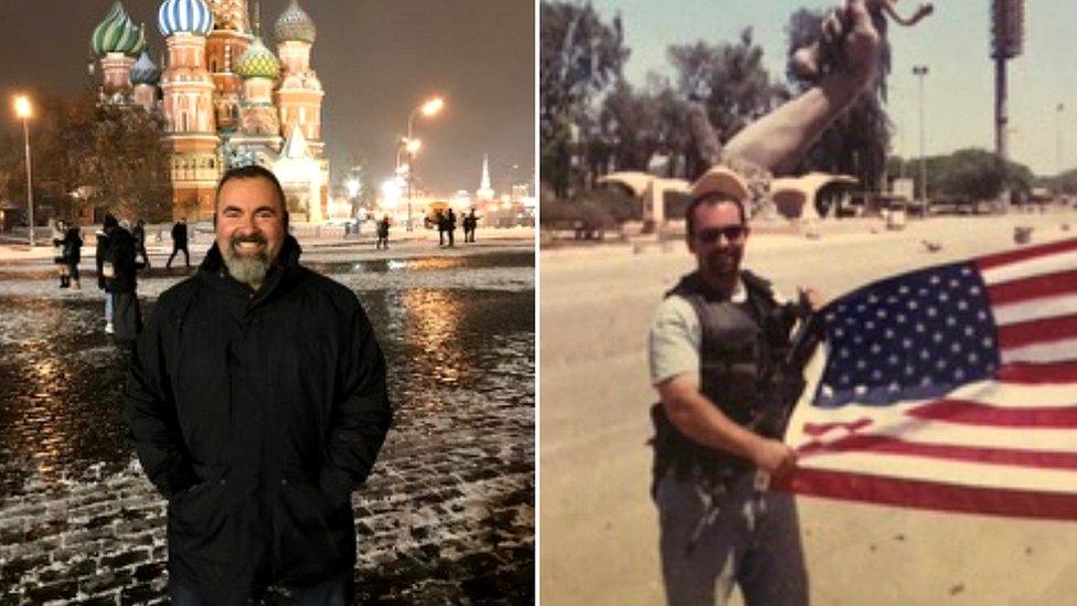 Marc Polymeropoulos en Moscú e Irak