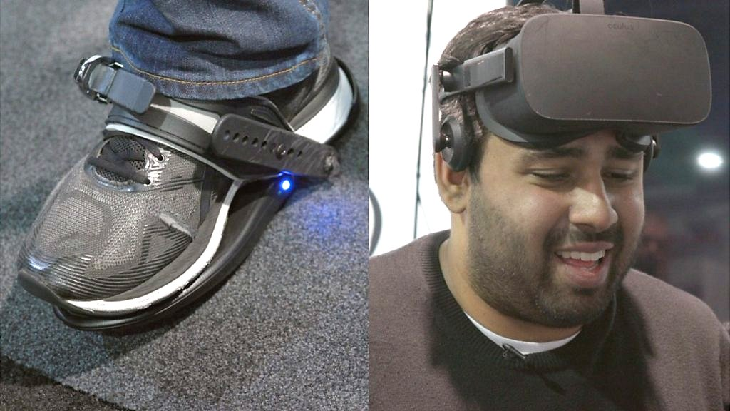 CES 2019: Virtual reality shoes are exhausting to use