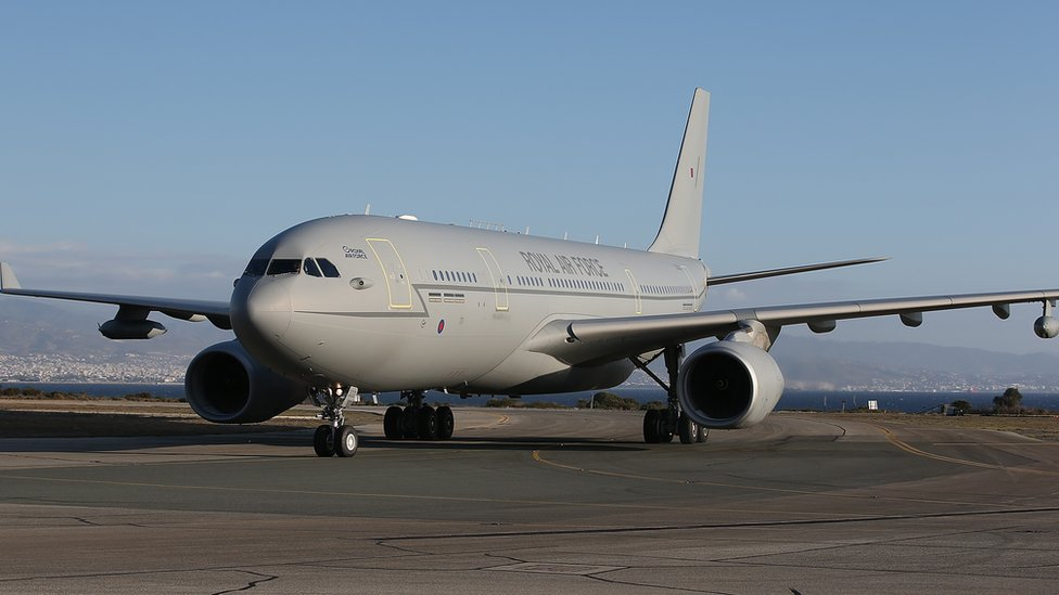 RAF Voyager tanker