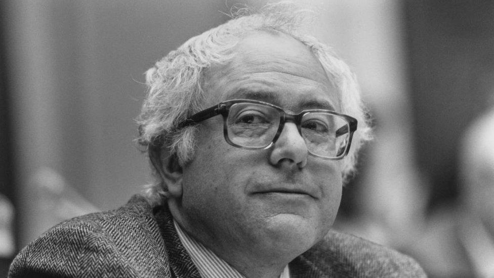 Bernie Sanders en 1991