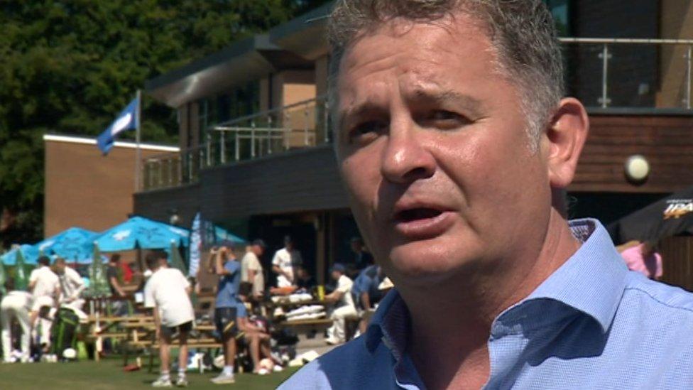 York Cricket Club Chairman Nigel Durham