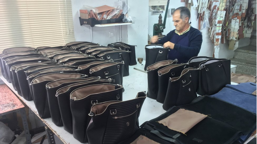 bags being created
