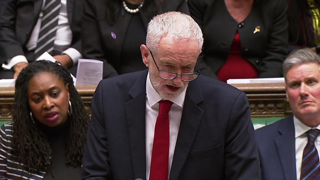 Jeremy Corbyn: PM's Brexit plan 'is dead'