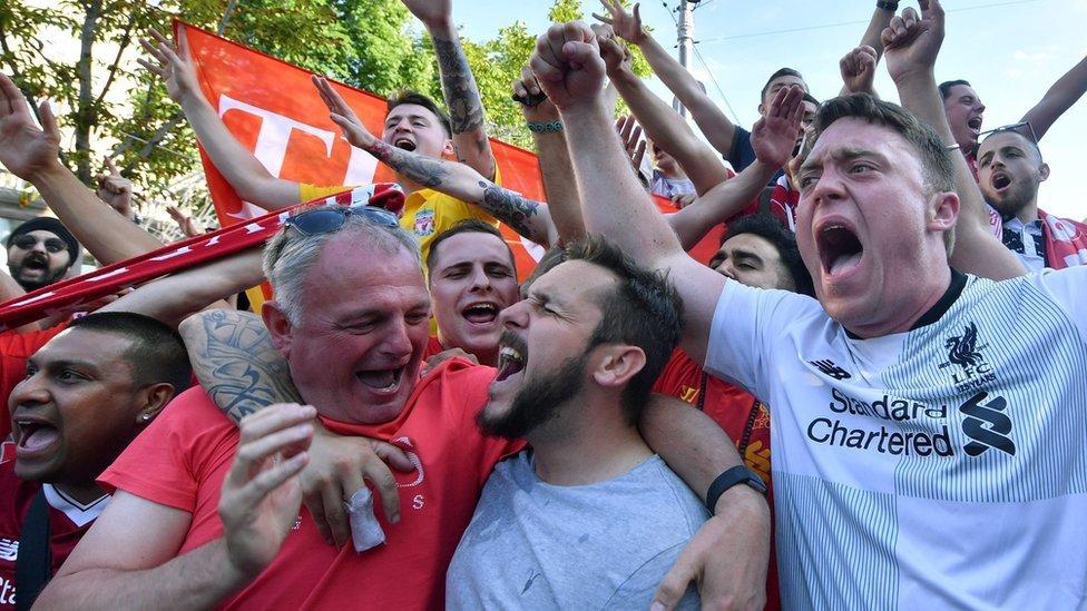 Champions League final: Fans set out for Kiev after flight cancellations