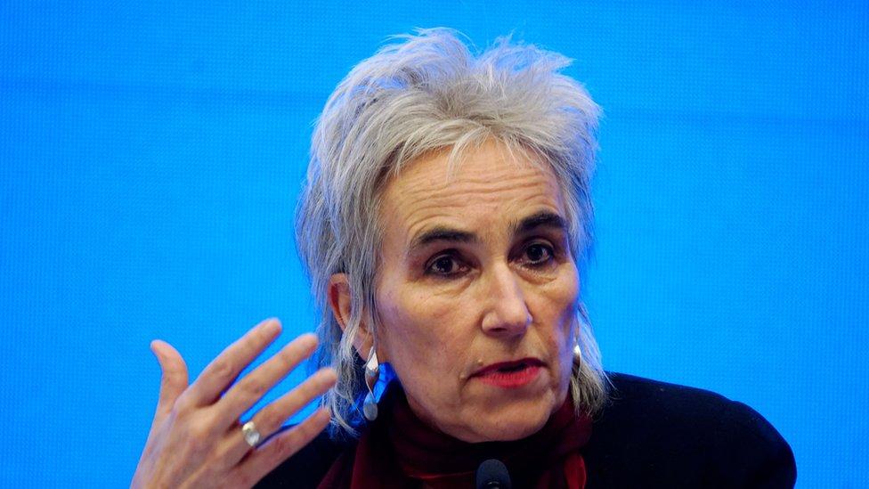 荷蘭病毒學家瑪麗安·庫普曼斯(Marion Koopmans)