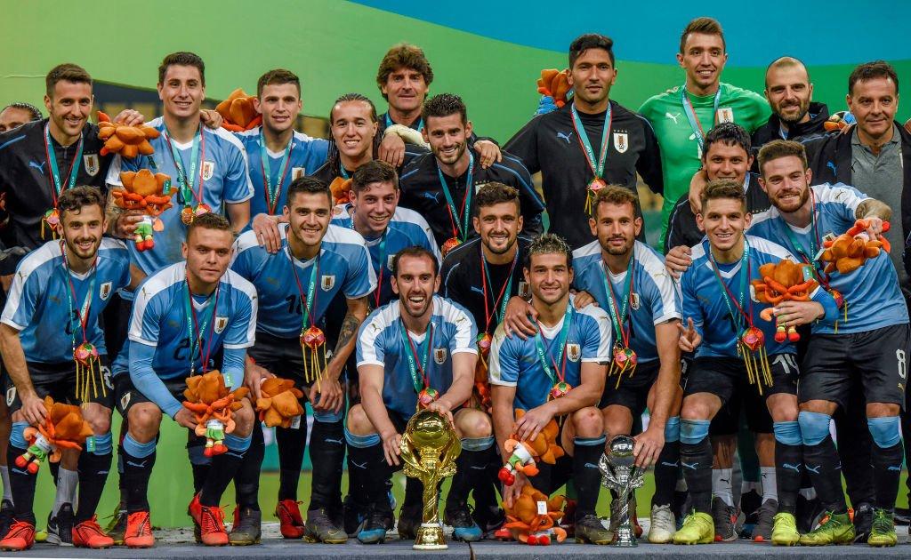 Uruguay campeón.
